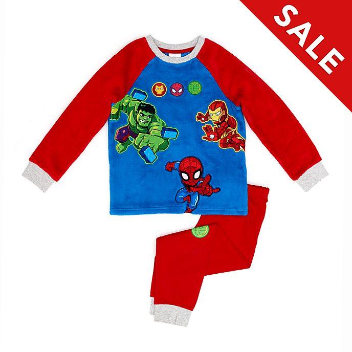 Disney Store - Marvel Superhelden Abenteuer - Flauschiger Pyjama für Kinder
