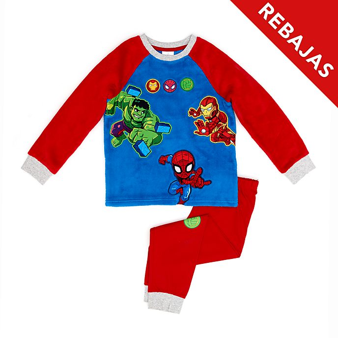 Pijama infantil mullido, Marvel Super Hero Adventures, Disney Store