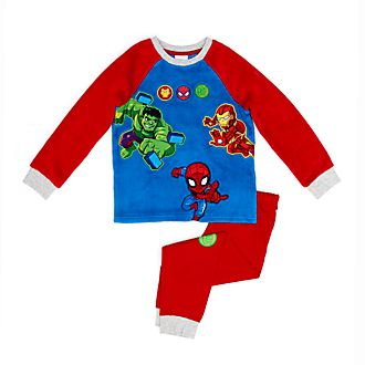 Disney Store Marvel Super Hero Adventures Fluffy Pyjamas For Kids