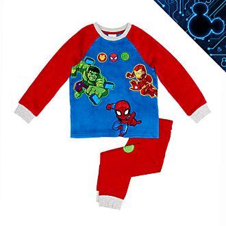 Pijama infantil mullido, Marvel Super Hero Adventures, Disney Store
