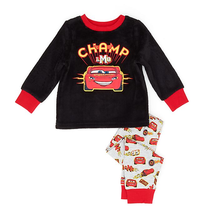 Disney Store Lightning McQueen Fluffy Pyjamas For Kids