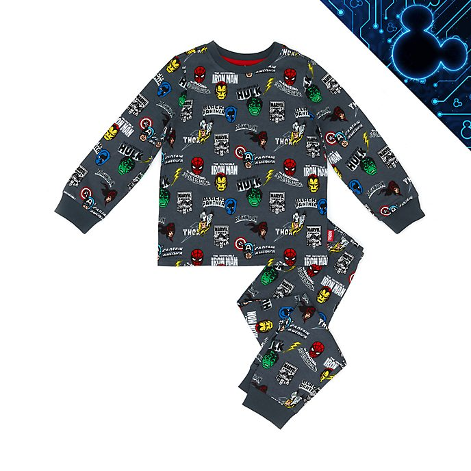 Disney Store Marvel Comics Organic Cotton Pyjamas For Kids