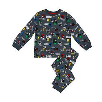 Disney Store Pyjama Marvel Comics en coton biologique pour enfants