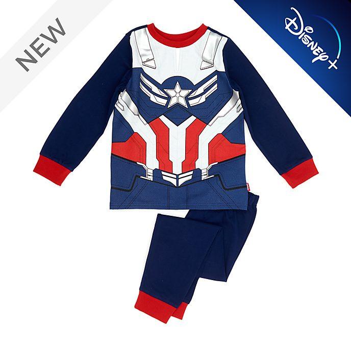Disney Store Captain America Costume Pyjamas For Kids
