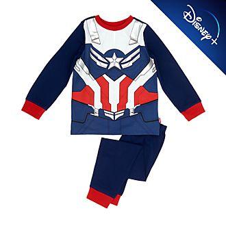 Disney Store - Captain America - Kostümpyjama für Kinder