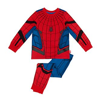 Disney Store Spider-Man Organic Cotton Costume Pyjamas For Kids