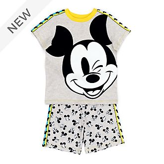 Disney Store Mickey Mouse Organic Cotton Pyjamas For Kids