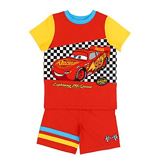 Disney Store Lightning McQueen Organic Cotton Pyjamas For Kids