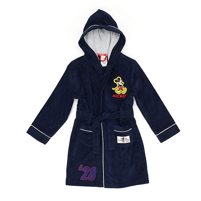 Disney Store Mickey Mouse Bath Robe For Kids
