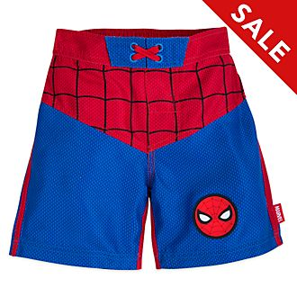 Disney Store Spider-Man Swimming Trunks For Kids