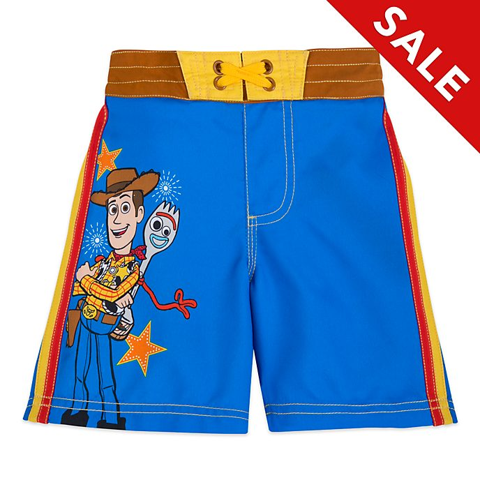Disney Store Toy Story 4 Swimming Trunks For Kids