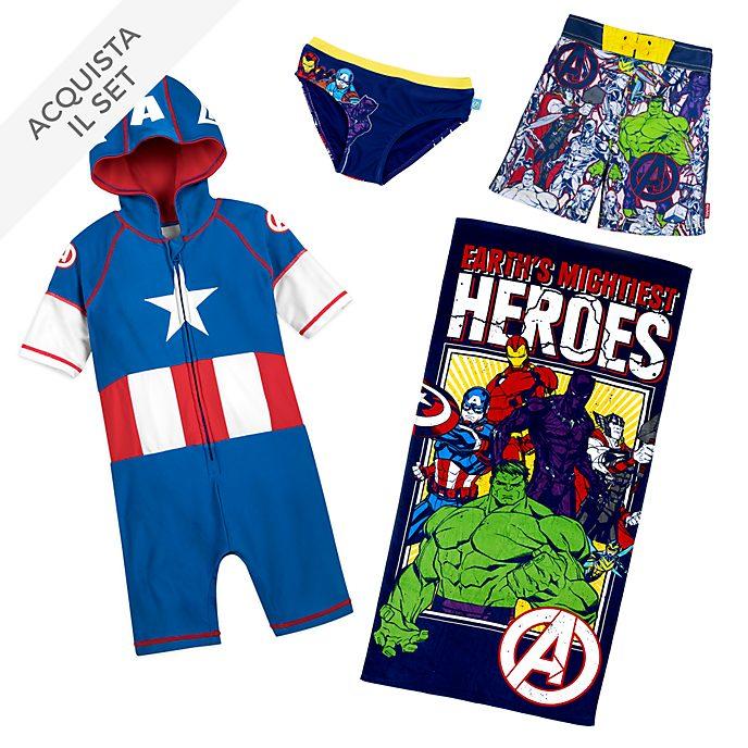 Collezione estiva bimbi Avengers Disney Store