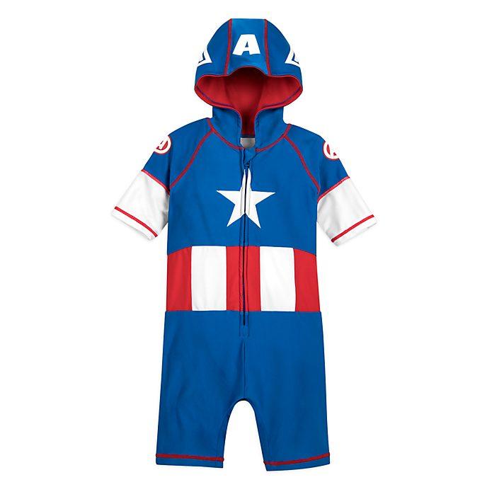 Camiseta infantil con protección Capitán América, Disney Store