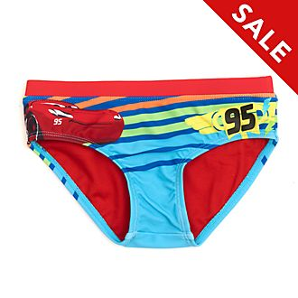 Disney Store Lightning McQueen Swimming Briefs For Kids