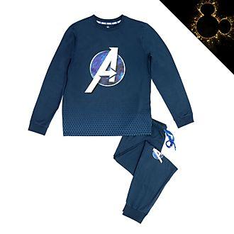 Pijama de algodón ecológico Los Vengadores para adultos, Disney Store