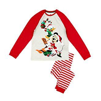 Disney Store - Holiday Cheer - Micky und Donald - Pyjama für Herren aus Bio-Baumwolle