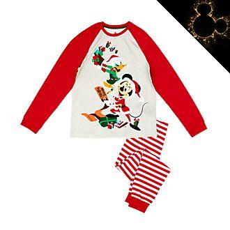 Pijama algodón ecológico Mickey y Donald para hombre, Holiday Cheer, Disney Store