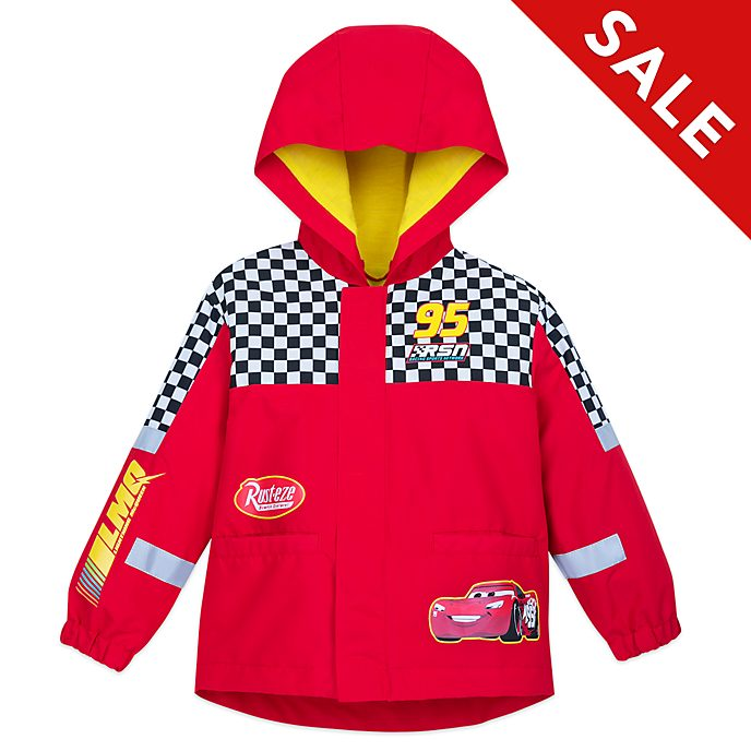 Disney Store Disney Pixar Cars Packable Raincoat For Kids