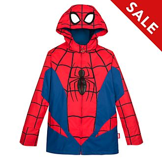 Disney Store Spider-Man Raincoat For Kids