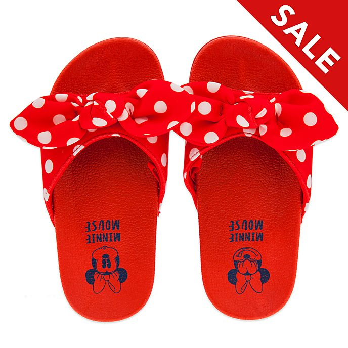 Disney Store Minnie Mouse Sliders For Kids