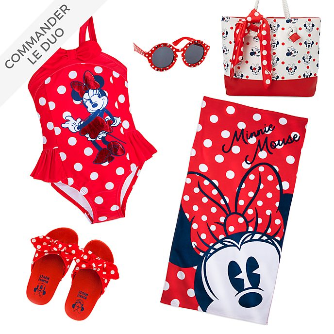 Disney Store Collection Plage Minnie pour enfants
