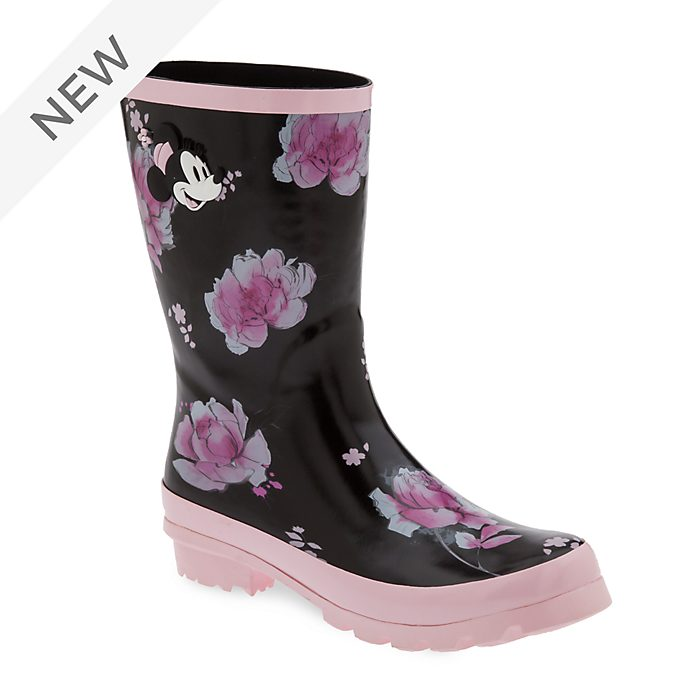 Disney Store Positively Minnie Wellington Boots For Adults