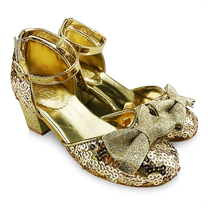 Disney Store Disney Princess Golden Shoes For Kids