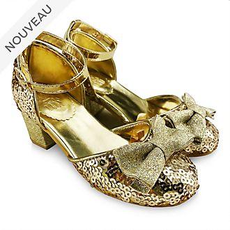 Disney Store Chaussures dorées Princesses Disney pour enfants