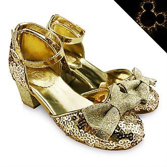 Zapatos infantiles dorados princesas Disney, Disney Store