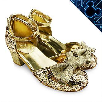 Disney Store Disney Princess Golden Shoes For Kids