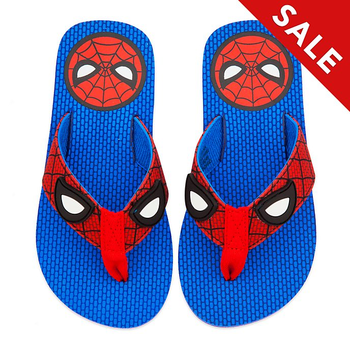 Disney Store Spider-Man Flip Flops For Kids