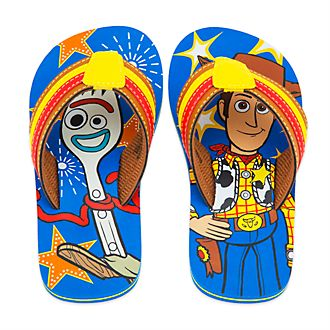 Disney Store Toy Story 4 Flip Flops For Kids
