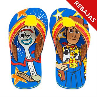 Chanclas infantiles Toy Story 4, Disney Store