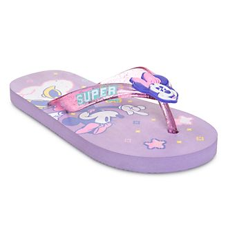 Disney Store Minnie Mouse Mystical Flip Flops For Kids