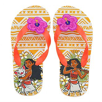 Disney Store Moana Flip Flops For Kids