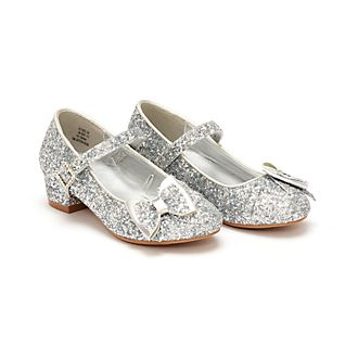 Disney Store Disney Princess Silver Shoes For Kids