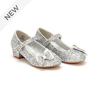 Disney Store Disney Princess Silver Shoes For Kids