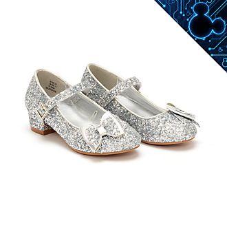 Disney Store - Disney Prinzessin - Silberfarbene Schuhe für Kinder