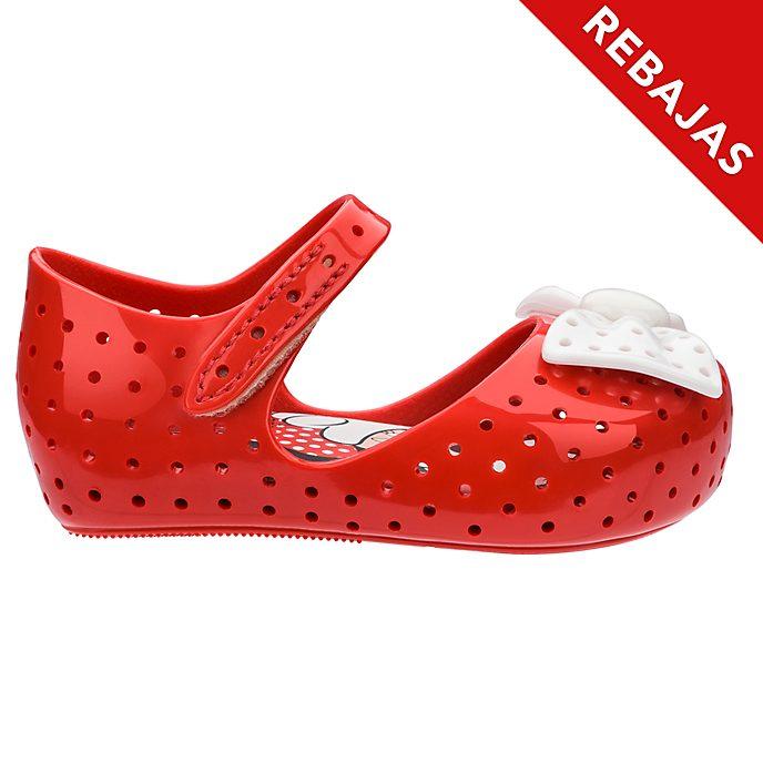 Zapatos rojos para bebé Minnie Mouse, Melissa