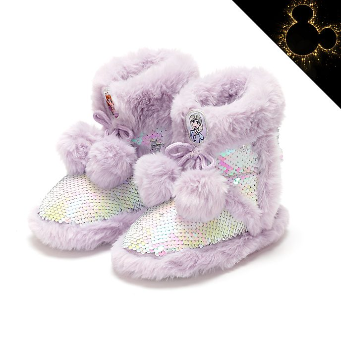 Disney Store Frozen Slipper Boots For Kids