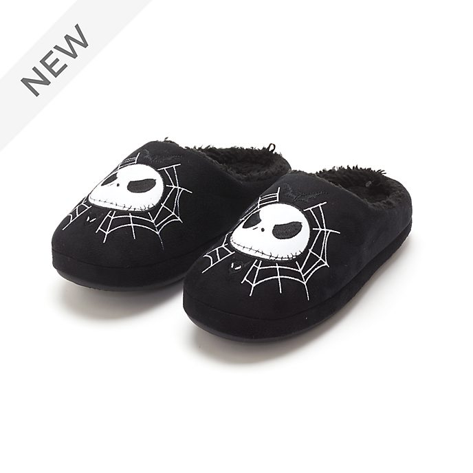 Disney Store Jack Skellington Slippers For Adults