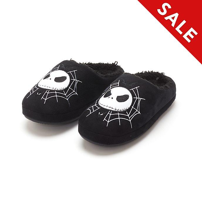 Disney Store Jack Skellington Slippers For Adults