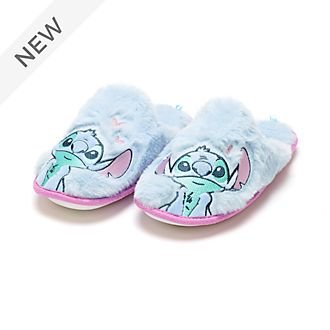 Disney Store Stitch Slippers For Adults