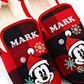 Disney Store - Holiday Cheer - Micky Maus - Hausschuhe für Erwachsene