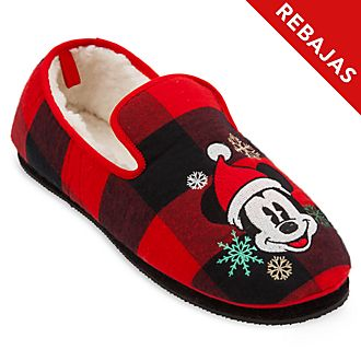 Zapatillas para adultos Mickey Mouse, Holiday Cheer, Disney Store