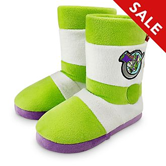 Disney Store Buzz Lightyear Slippers For Kids, Toy Story