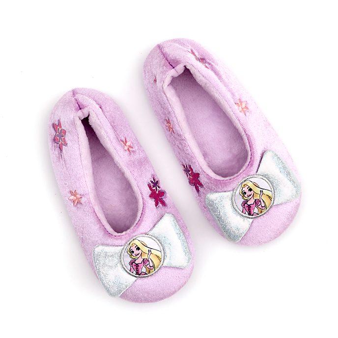Disney Store Rapunzel Slippers For Kids, Tangled