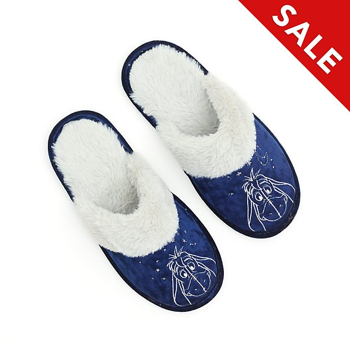 Disney Store Eeyore Slippers For Adults