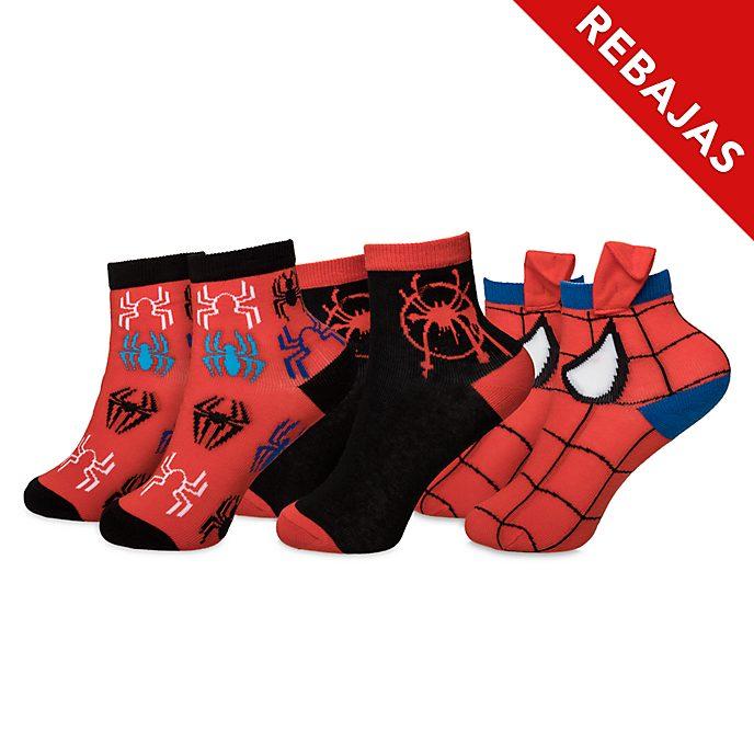Calcetines para niño Spider-Man: Un Nuevo Universo, 3 pares, Disney Store