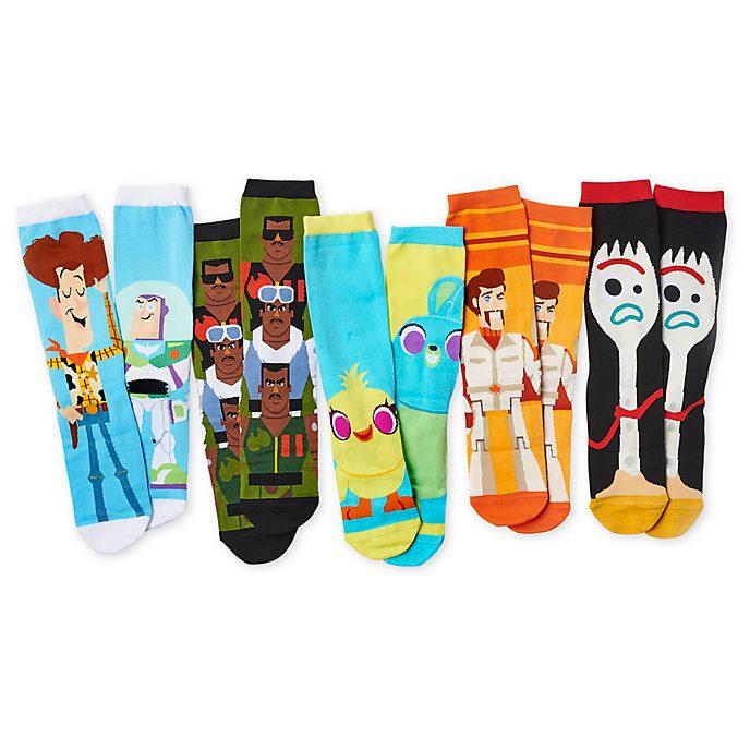 Disney Store - Toy Story4 - Sockenset für Erwachsene, 5Paar